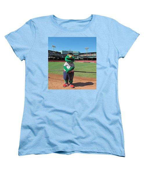 Women's T-Shirt (Standard Cut) featuring the photograph Wally by Barbara McDevitt