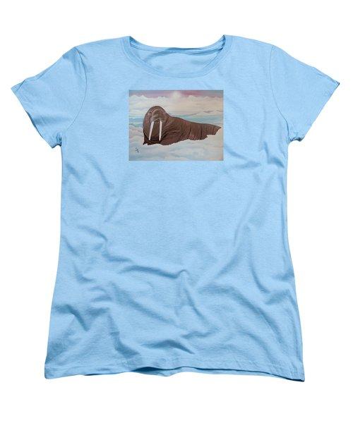 Walter Women's T-Shirt (Standard Cut) by Dianna Lewis
