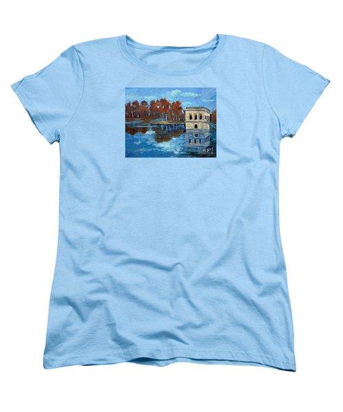 Waltham Reservoir Women's T-Shirt (Standard Cut) by Rita Brown