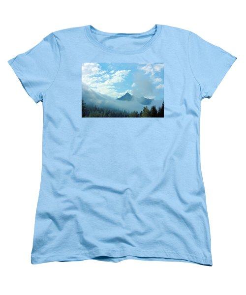 Washington State Women's T-Shirt (Standard Cut) by Kristin Elmquist