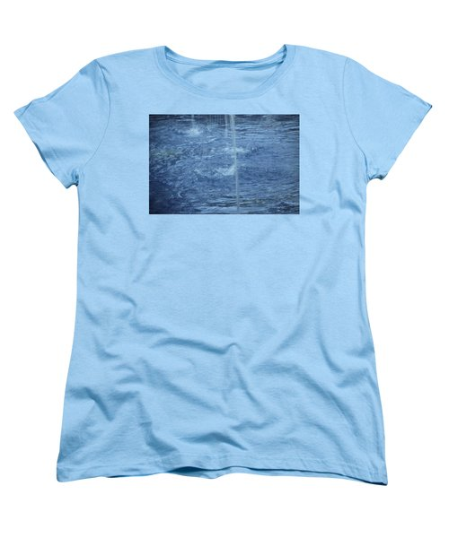 Water Women's T-Shirt (Standard Cut) by Mustafa Abdullah