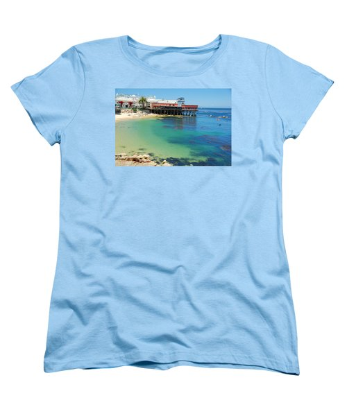 Waterfront At Cannery Row Women's T-Shirt (Standard Cut) by Jonah  Anderson