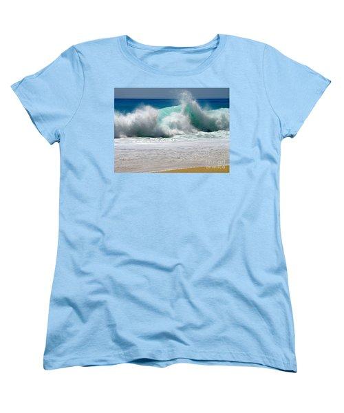 Wave Women's T-Shirt (Standard Cut) by Karon Melillo DeVega