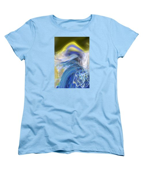 Wave Theory Women's T-Shirt (Standard Cut) by Richard Thomas