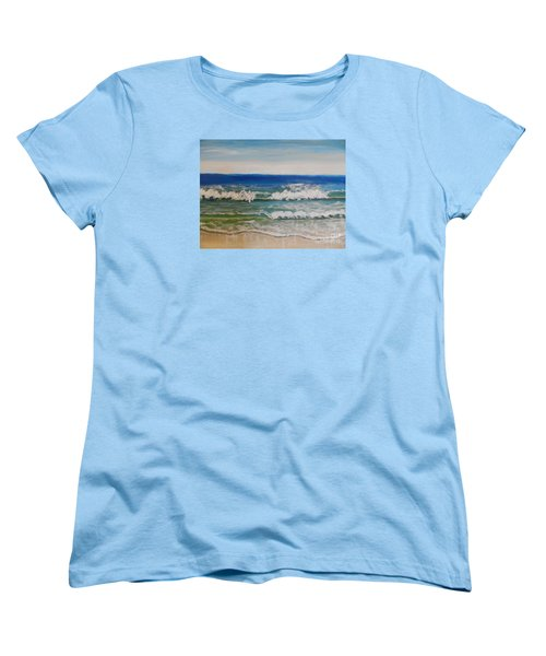 Waves Women's T-Shirt (Standard Cut)