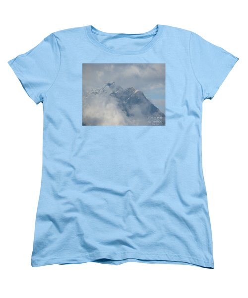 Women's T-Shirt (Standard Cut) featuring the photograph Way Up Here by Greg Patzer