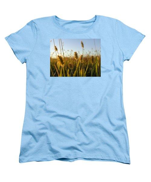 Women's T-Shirt (Standard Cut) featuring the photograph Weeds by Joseph Skompski