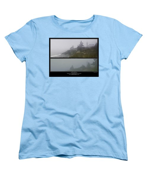 Women's T-Shirt (Standard Cut) featuring the photograph We'll Keep The Light On For You by Marty Saccone