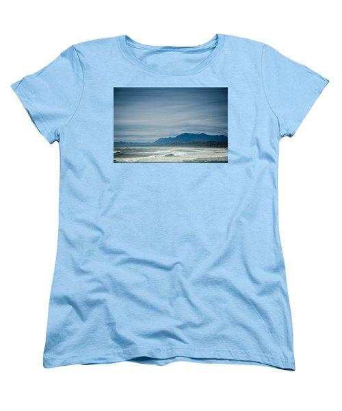 West Coast Exposure  Women's T-Shirt (Standard Cut) by Roxy Hurtubise