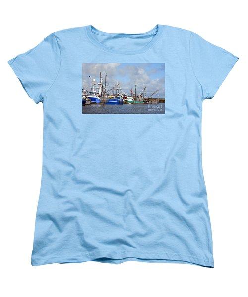 Westport Fishing Boats 2 Women's T-Shirt (Standard Cut)