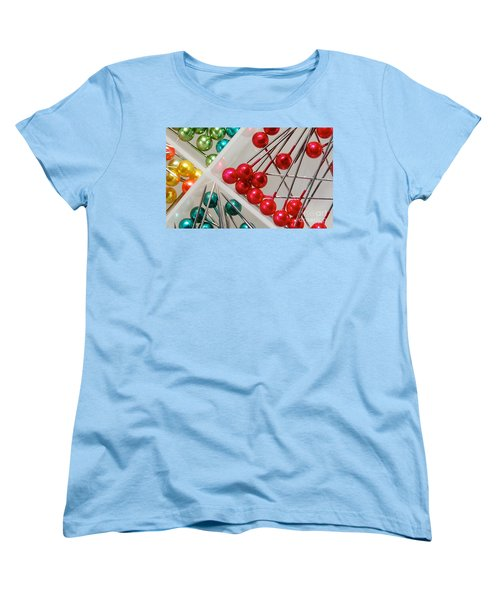 Women's T-Shirt (Standard Cut) featuring the digital art What A Buncha Pinheads by Margie Chapman