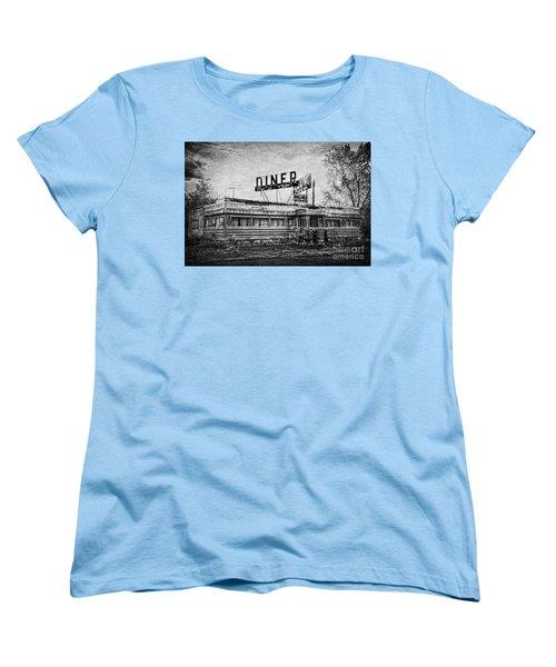 Women's T-Shirt (Standard Cut) featuring the photograph What Is On The Menu by Debra Fedchin