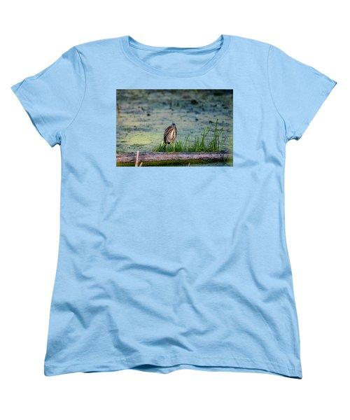 Women's T-Shirt (Standard Cut) featuring the photograph Whatcou Lookin' At? by David Porteus