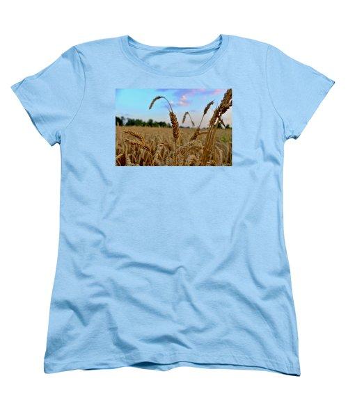 Wheat Women's T-Shirt (Standard Cut)