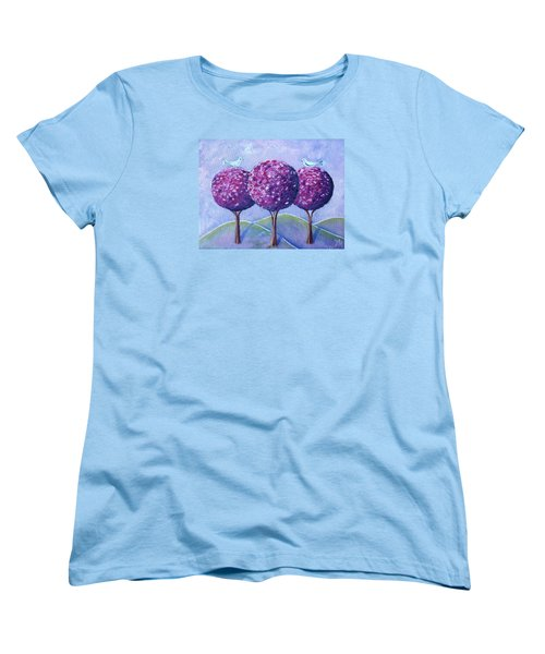When The Cherry Trees Are Blooming Women's T-Shirt (Standard Cut)