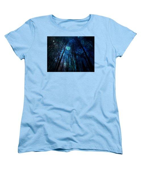Where The Faeries Meet Women's T-Shirt (Standard Cut) by Micki Findlay