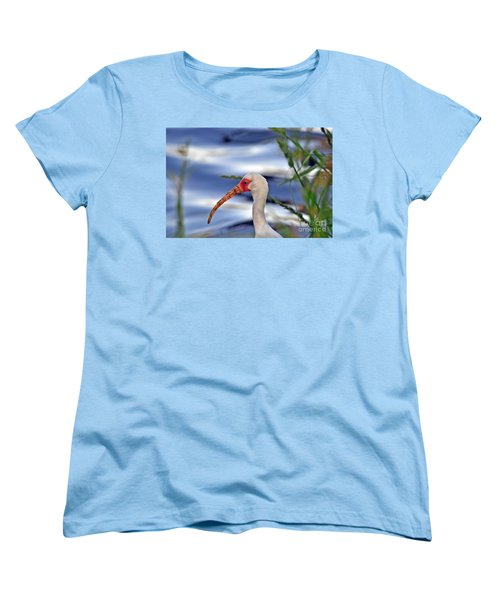 Intriguing Ibis Women's T-Shirt (Standard Cut) by Al Powell Photography USA