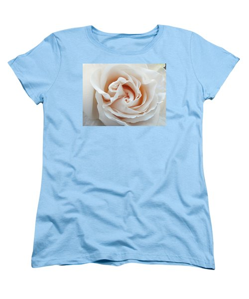 Women's T-Shirt (Standard Cut) featuring the photograph White Rose by Tiffany Erdman