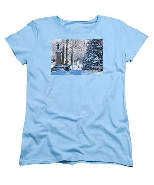 Whitehouse Village Park  7360 Women's T-Shirt (Standard Cut) by Jack Schultz