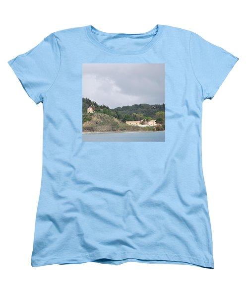 Windmill Built 1830 Women's T-Shirt (Standard Cut) by George Katechis