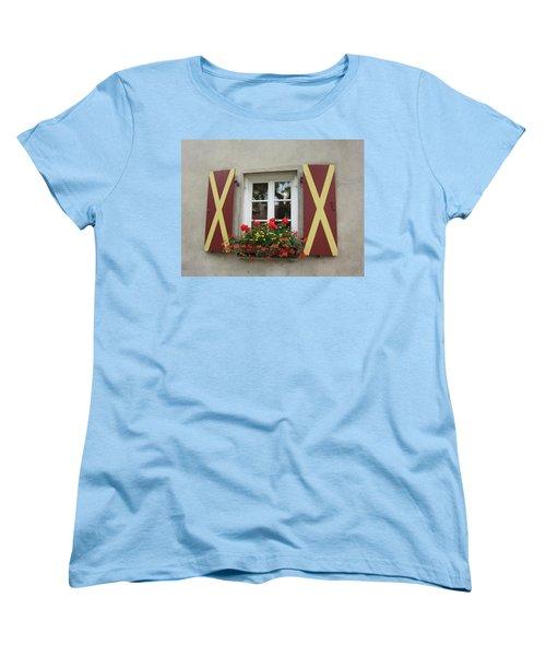 Window Dressing Women's T-Shirt (Standard Cut) by Pema Hou