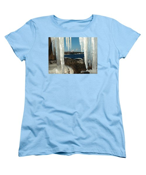 Women's T-Shirt (Standard Cut) featuring the photograph Window Into Minnesota by James Peterson