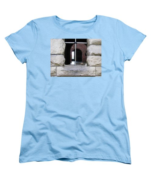 Window Watcher Women's T-Shirt (Standard Cut) by Michael Krek