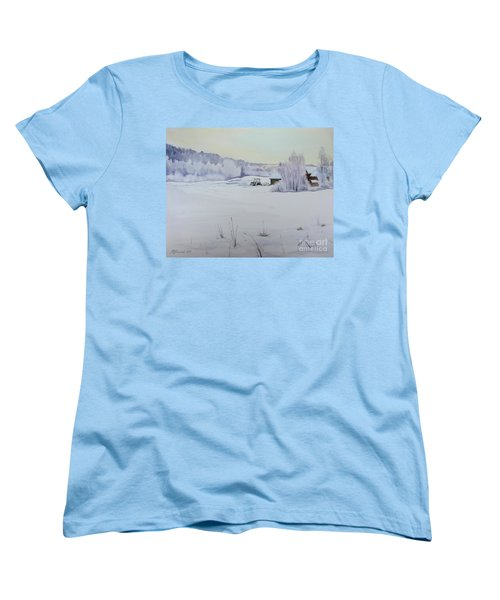 Winter Blanket Women's T-Shirt (Standard Cut) by Martin Howard