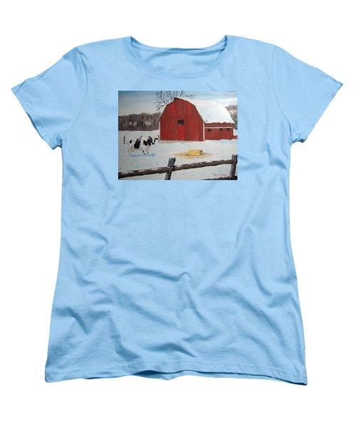 Winter Haven Women's T-Shirt (Standard Cut) by Norm Starks
