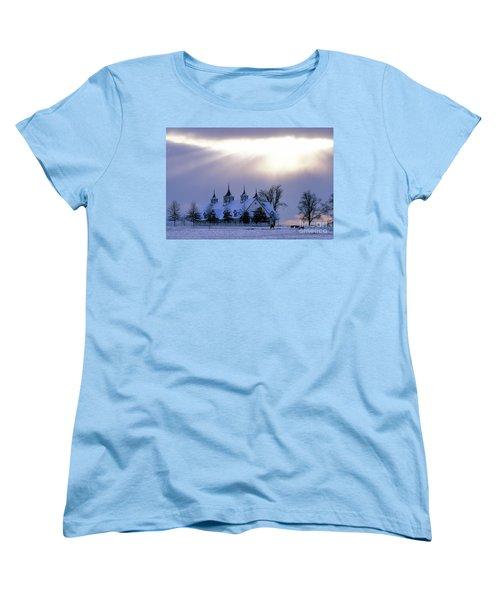 Winter In The Bluegrass - Fs000286 Women's T-Shirt (Standard Cut) by Daniel Dempster