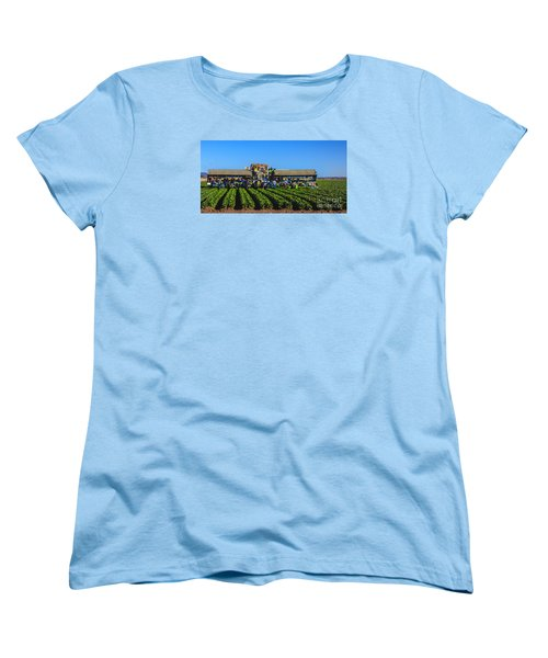 Winter Lettuce Harvest Women's T-Shirt (Standard Cut) by Robert Bales