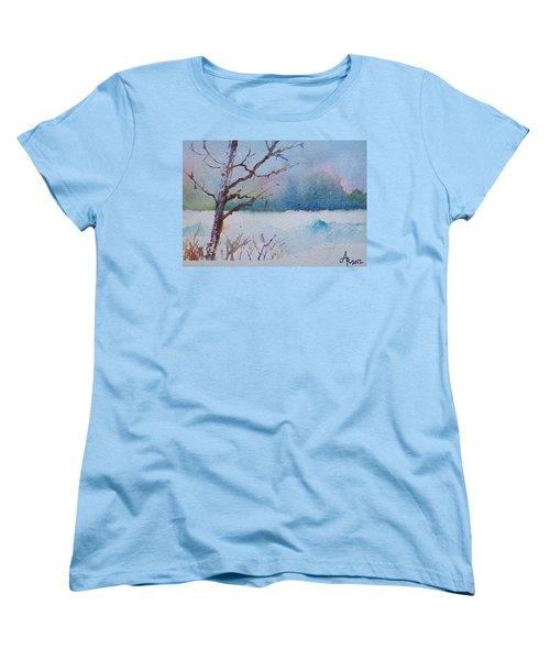 Winter Loneliness Women's T-Shirt (Standard Cut)
