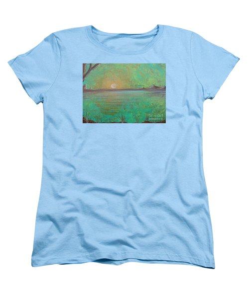 Winter Solitude 7 Women's T-Shirt (Standard Cut) by Jacqueline Athmann