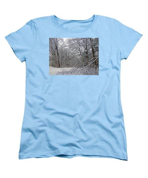Winter Wonderland Women's T-Shirt (Standard Cut) by Pema Hou