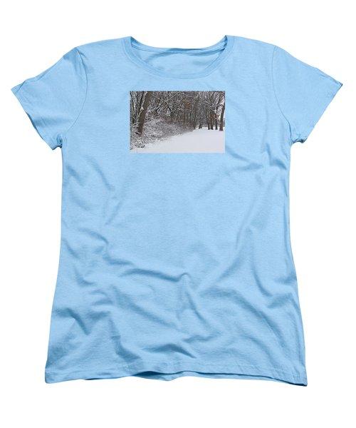 Winters Delight 2 Women's T-Shirt (Standard Cut) by Cedric Hampton