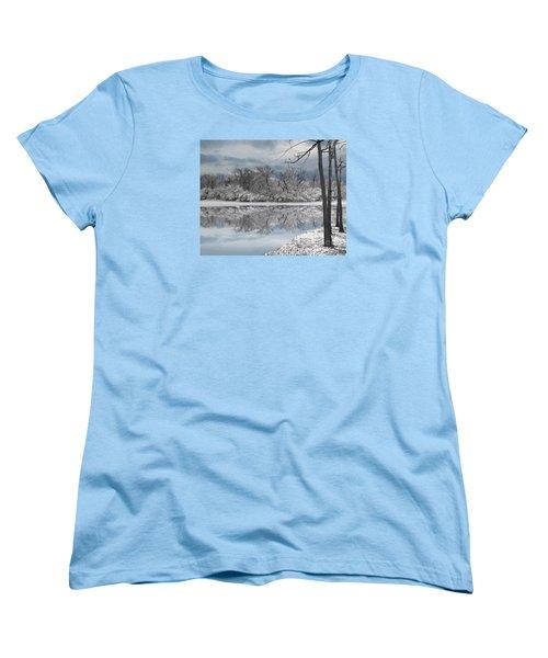 Winters Delight 6 Women's T-Shirt (Standard Cut) by Cedric Hampton