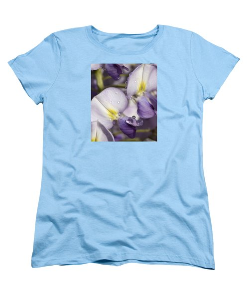 Wisteria Women's T-Shirt (Standard Cut) by Richard Thomas