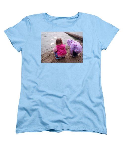 Wondering Innocence Women's T-Shirt (Standard Cut) by Fortunate Findings Shirley Dickerson