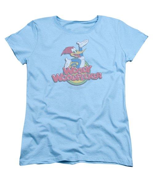 Woody Woodpecker - Retro Fade Women's T-Shirt (Standard Cut) by Brand A