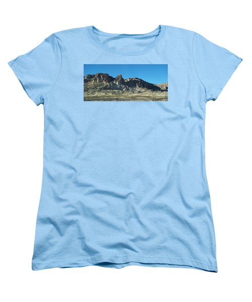 Women's T-Shirt (Standard Cut) featuring the photograph Western Landscape by Eunice Miller