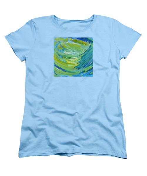 Women's T-Shirt (Standard Cut) featuring the painting Worship by Cassie Sears