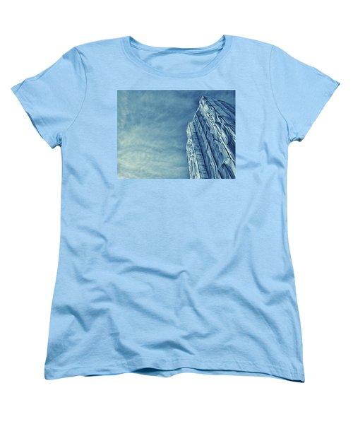 Women's T-Shirt (Standard Cut) featuring the photograph Wrapped Cathedral by John Hansen