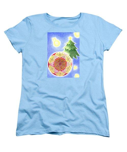 X'mas Ornament Women's T-Shirt (Standard Cut) by Keiko Katsuta
