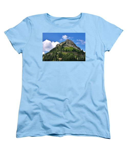 Yakima Peak Women's T-Shirt (Standard Cut) by Sean Griffin
