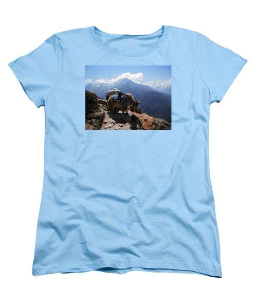 Yaks 1a Women's T-Shirt (Standard Cut) by Pema Hou