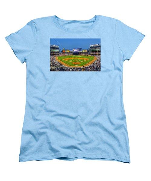 Yankee Stadium Women's T-Shirt (Standard Cut) by Jeffrey Friedkin