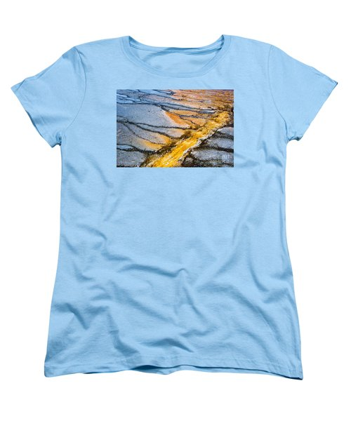 Yellowstone Abstract Women's T-Shirt (Standard Fit)