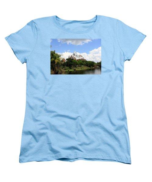 Women's T-Shirt (Standard Cut) featuring the photograph Yeti Country by David Nicholls