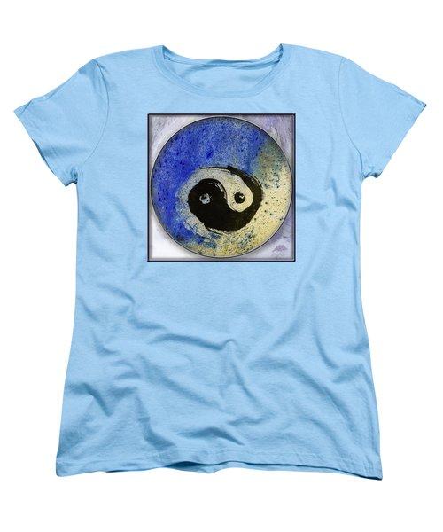 Yin Yang Painting Women's T-Shirt (Standard Cut) by Peter v Quenter