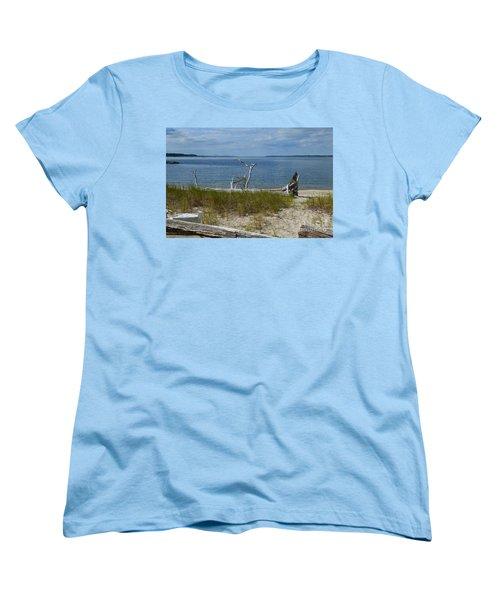 Yorktown Va Beach Women's T-Shirt (Standard Cut) by DejaVu Designs